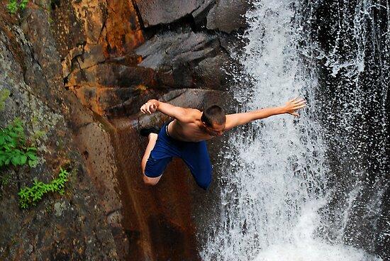 Smalls Falls Leap of Faith #12 by Jenny Webber