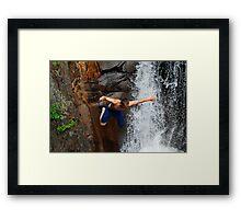 Smalls Falls Leap of Faith #12 Framed Print