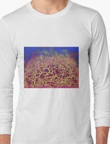 """Natural Frenzy"" original abstract artwork Long Sleeve T-Shirt"