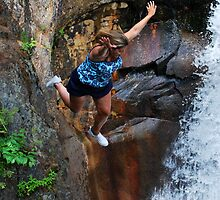 Smalls Falls Leap of Faith #14 by Jenny Webber