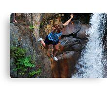 Smalls Falls Leap of Faith #14 Canvas Print