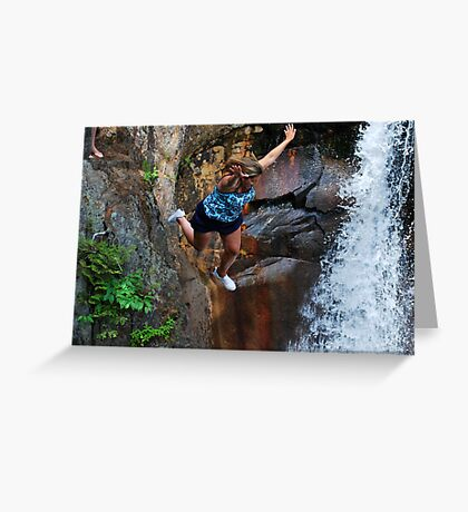 Smalls Falls Leap of Faith #14 Greeting Card