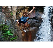 Smalls Falls Leap of Faith #14 Photographic Print