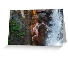 Smalls Falls Leap of Faith #15 Greeting Card