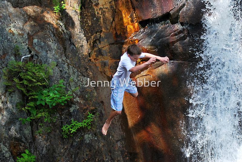 Smalls Falls Leap of Faith #16 by Jenny Webber