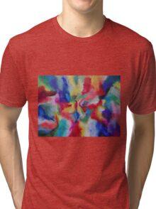 """Euphoria"" original abstract artwork by Laura Tozer Tri-blend T-Shirt"
