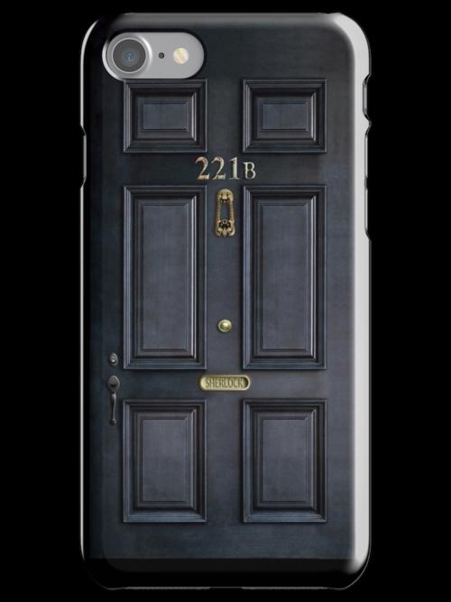 Black Door with 221b number by Arief Rahman Hakeem