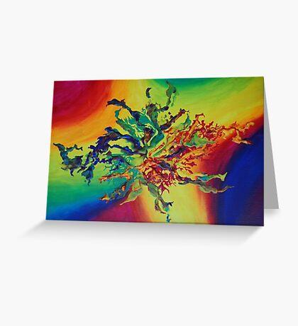 """Talisman"" original abstract artwork Greeting Card"