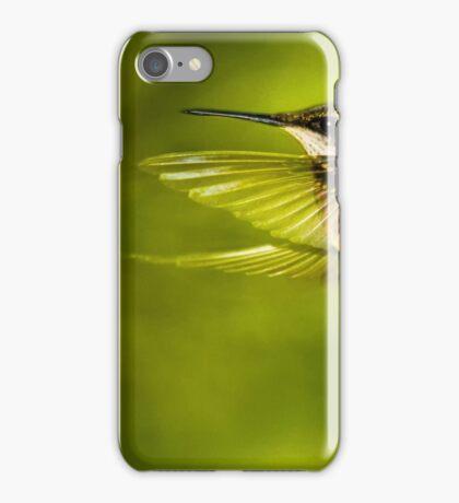Forward Stroke - Hummingbird in Flight iPhone Case/Skin