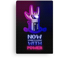 Retro Gaming Nostalgia: Power Glove Canvas Print