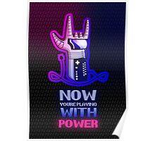 Retro Gaming Nostalgia: Power Glove Poster