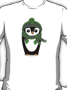 Penguin Hat, Scarf and Mittens T-Shirt