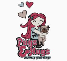 Pugs and Hugs Kids Clothes