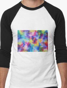 """In a Dream No.4"" original abstract artwork by Laura Tozer Men's Baseball ¾ T-Shirt"