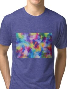 """In a Dream No.4"" original abstract artwork by Laura Tozer Tri-blend T-Shirt"