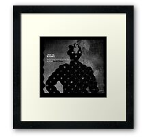 Subject: What you know 2. Framed Print
