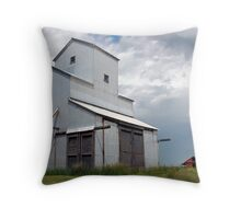 Alberta Grain Elevator Throw Pillow