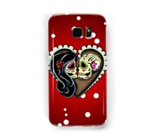 Ashes - Day of the Dead Couple - Sugar Skull Lovers Samsung Galaxy Case/Skin
