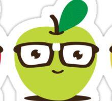 Nerdy Apples Sticker
