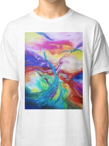 """""""Eruption"""" original abstract artwork by Laura Tozer Classic T-Shirt"""