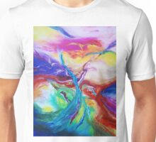 """Eruption"" original abstract artwork by Laura Tozer Unisex T-Shirt"