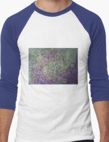 """Entanglement"" original abstract artwork by Laura Tozer Men's Baseball ¾ T-Shirt"