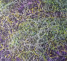 """""""Entanglement"""" original abstract artwork by Laura Tozer by Laura Tozer"""