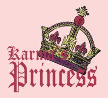 karma arts uk - Karmas Princess Kids Tee