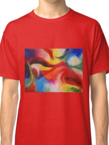 """Fiesta Nocturna"" original abstract landscape by Laura Tozer Classic T-Shirt"