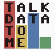 Talk Data To Me One Piece - Long Sleeve