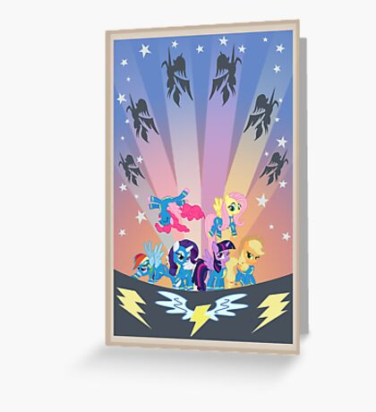 The Mane Event Greeting Card