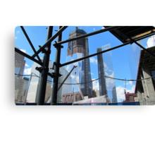 World Trade Center Under Construction Canvas Print