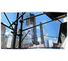 World Trade Center Under Construction Poster