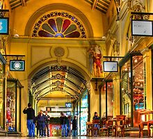 Block Arcade Melbourne AUstralia by Peter Lester
