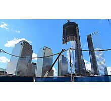 Freedom Tower Ascends Photographic Print