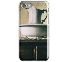 Pitcher and basin iPhone Case/Skin