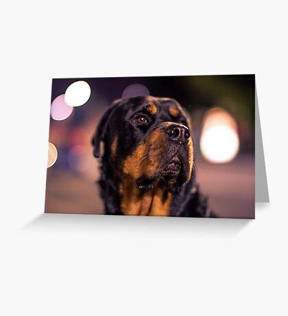 Mr Handsome Greeting Card