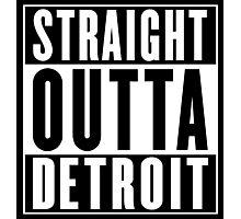 Straight Outta Detroit (Wayne County, Michigan) Photographic Print