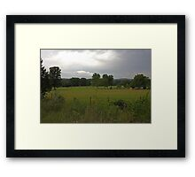 The Pending Storm Framed Print