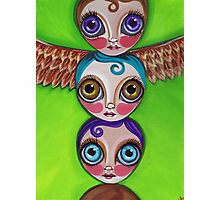 """Totem Dolls"" Photographic Print"