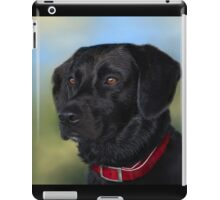 Black Lab - Dog Portrait iPad Case/Skin