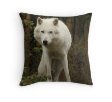 Leaning left Throw Pillow