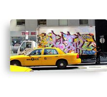 Art on the move Canvas Print