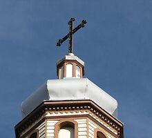 Holy Trinity Ukrainian Catholic Church by Kathi Arnell