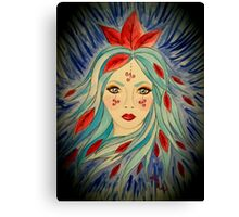 Goddess of The Icy Wind s Canvas Print