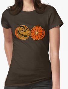 Clockwork Orange (brass) Womens Fitted T-Shirt