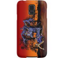 Weird Cursed British blue Phone box Monster Samsung Galaxy Case/Skin