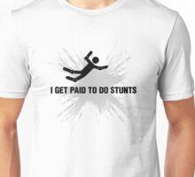 Professional Stuntman/Stuntwoman Shirt (Black Splash) Unisex T-Shirt