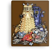 The Best Robot in the Universe Metal Print