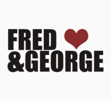 Fred and George by Kate Bloomfield
